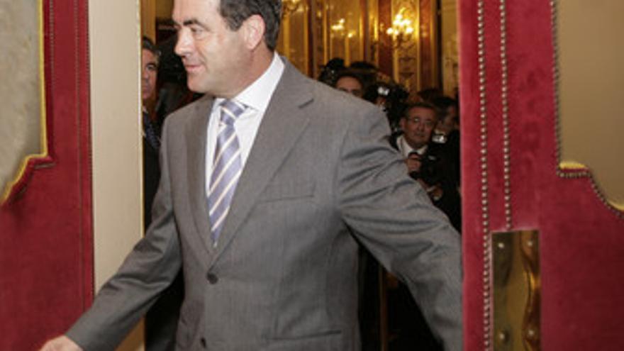 José Bono, en el Congreso