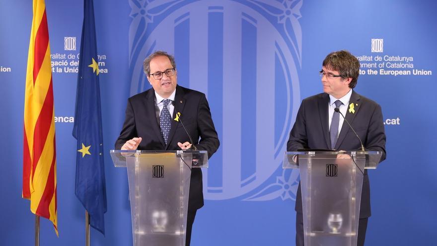 El Govern conmemorará el 1-O desde el pueblo de Puigdemont donde hubo cargas policiales