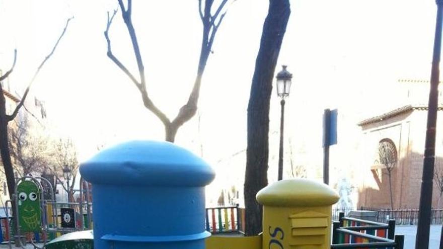 Correos retira los buzones azules del pp - Buzones de correos madrid ...