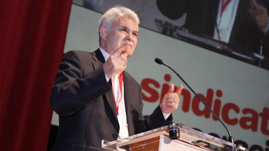 José Luis Gil en el VIII Congreso de CCOO CLM