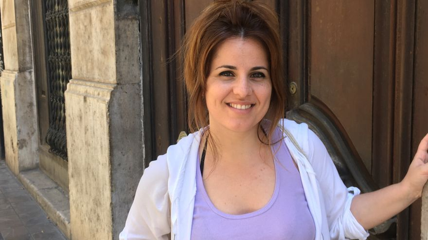 La exdiputada autonómica de Esquerra Unida Esther López Barceló