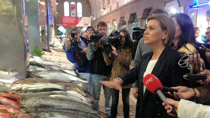 Cospedal confía en que el PSOE se siente a hablar tras las vascas y gallegas para no ir a unas terceras elecciones
