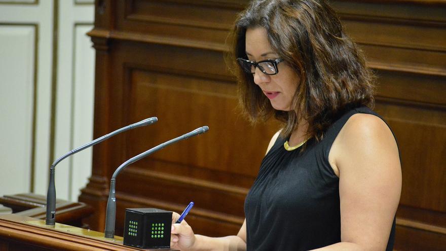 La diputada socialista Ventura del Carmen Rodríguez.