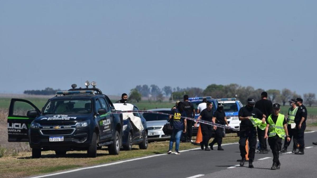 El femicida viajaba con otros dos compañeros, quienes también quedaron detenidos en la Alcaidía de Melincué.