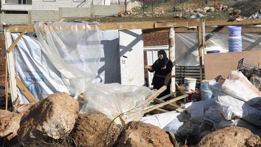 Las deudas ahogan a los refugiados sirios en el Líbano