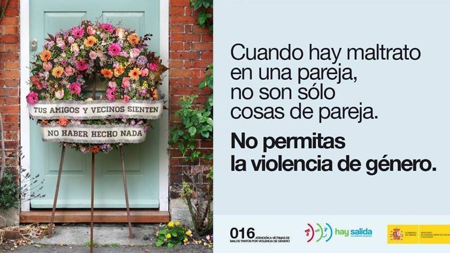 Cartel de la campaña de publicidad institucional contra la violencia de género en 2017. Foto: Ministerio de Sanidad