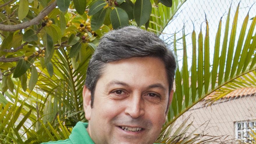 Ramón García López es investigador principal de la Red de Telescopios Cherenkov. Crédito: MIGUEL BRIGANTI, SMM (IAC).
