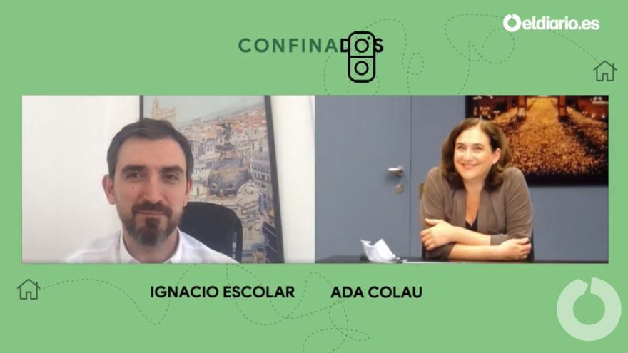 Ignacio Escolar entrevista a Ada Colau, alcaldesa de Barcelona.