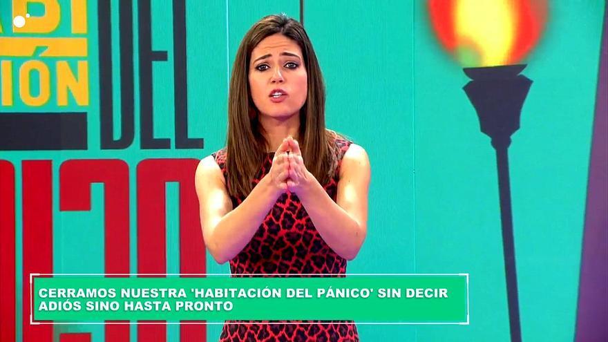 Así anunció Nuria Marín el adiós temporal de 'La habitación del pánico' en Cuatro por el coronavirus