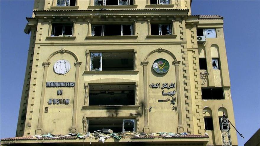 Intervienen la sede principal de los Hermanos Musulmanes en El Cairo