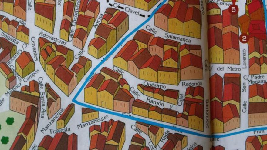 Plano de Mora con motivo de las Fiestas del Olivo