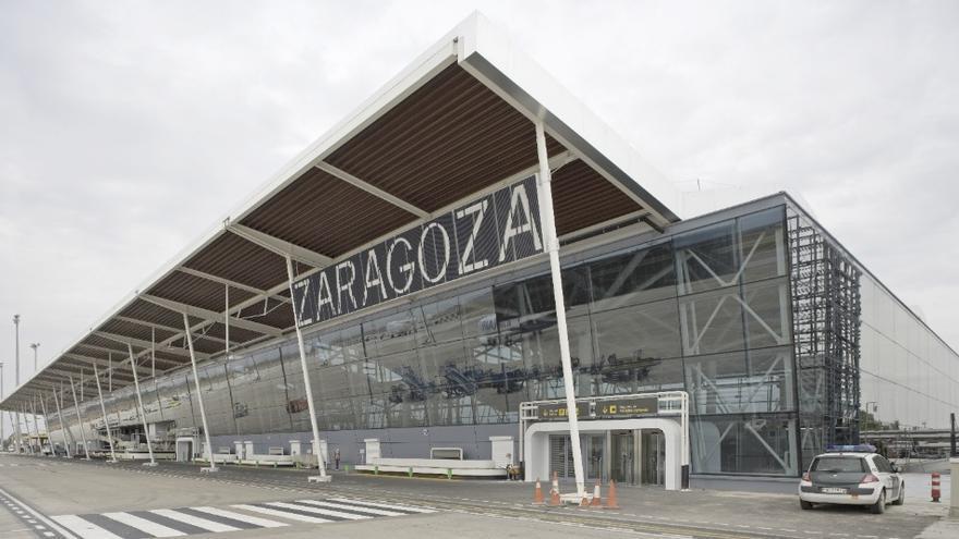 El de Zaragoza es el segundo aeropuerto de España en tráfico de mercancias.
