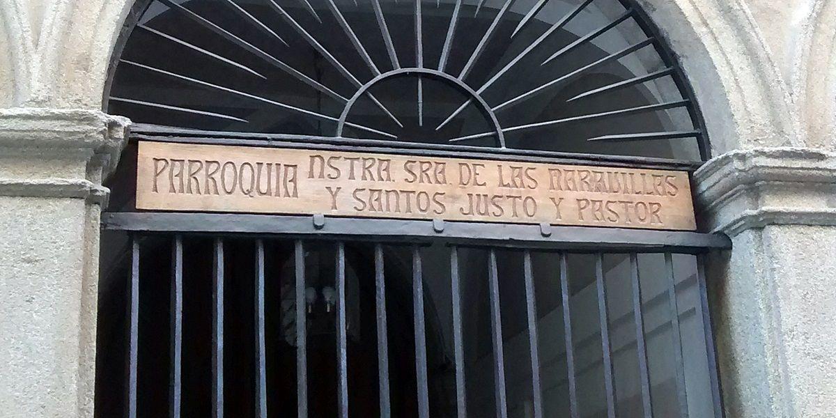 Entrada a la Iglesia de la Virgen de las Maravillas | SOMOS MALASAÑA