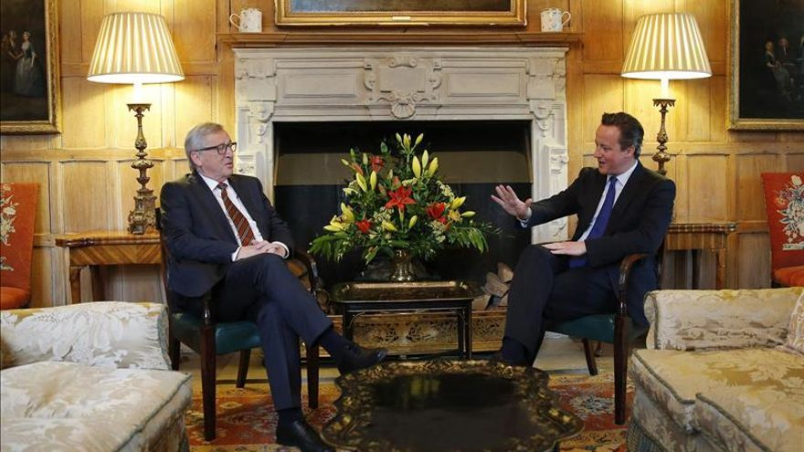 """El Reino Unido preguntará a los británicos si quieren """"permanecer"""" en la UE"""