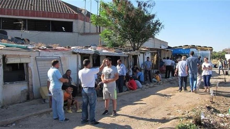 Asentamiento 'El Cavero' / EUROPA PRESS