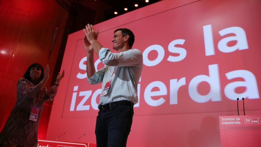 Pedro Sánchez en el 39 Congreso Federal del PSOE