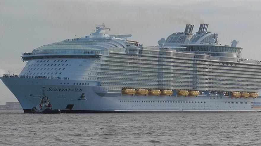 El crucero Symphony Of The Seas
