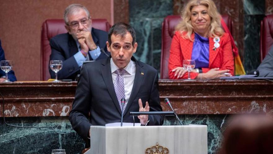 El diputado regional de Vox Juan José Liarte
