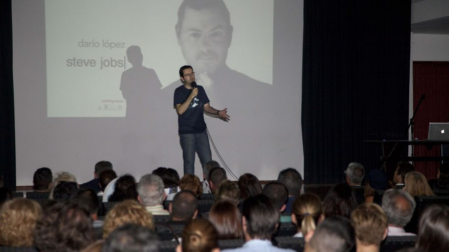 El humorista Darío López inauguró el XII Festivalito La Palma.