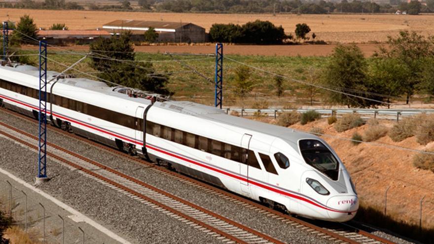 Oaris, tren de alta velocidad desarrollado por CAF.   FOTO: Thomas.plotduty.