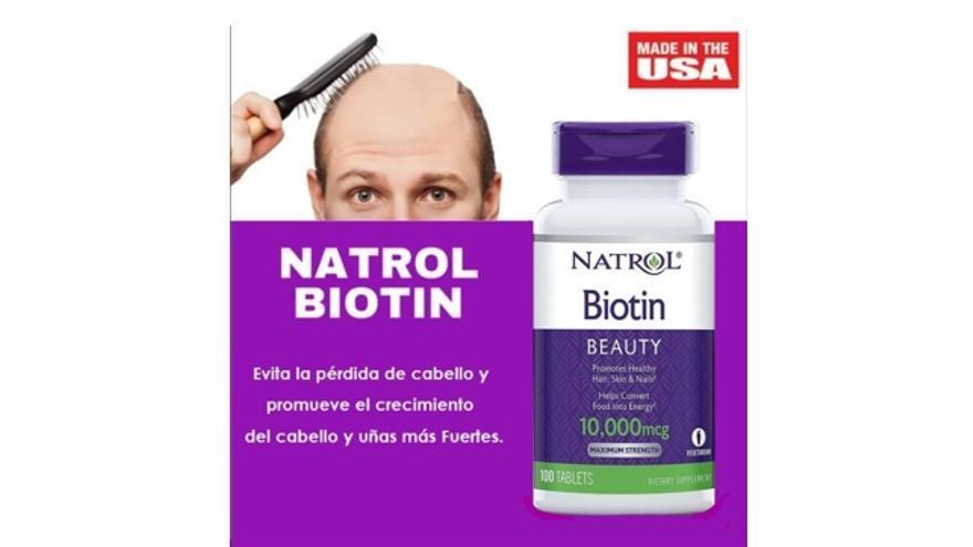 ¿Es malo tomar suplementos de biotina para la caída del cabello y las uñas?