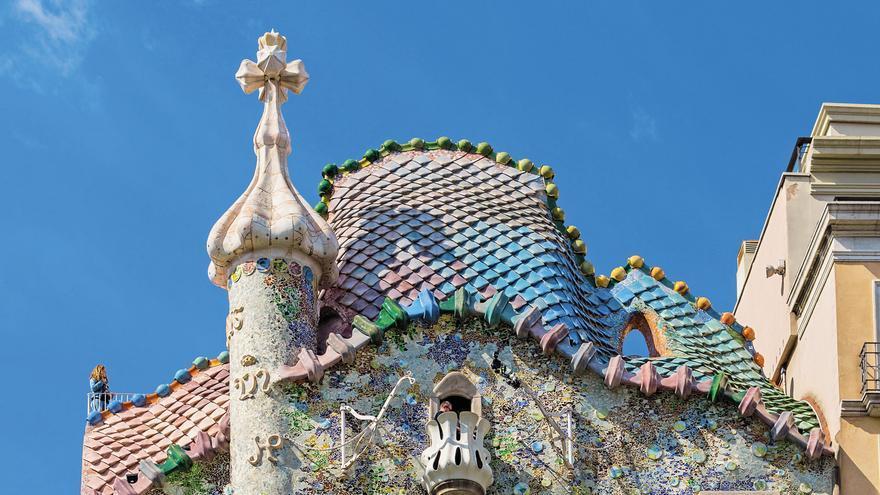 Fachada de la  Casa Batlló.