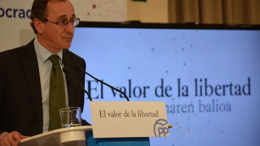 """PP vasco advierte de que la """"propaganda"""" que rodea el desarme no debe ocultar es la """"rendición"""" de ETA"""