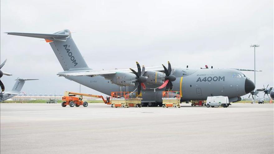 Un A400M de Airbus llegará a Sevilla a las 16:30 horas procedente de Toulouse