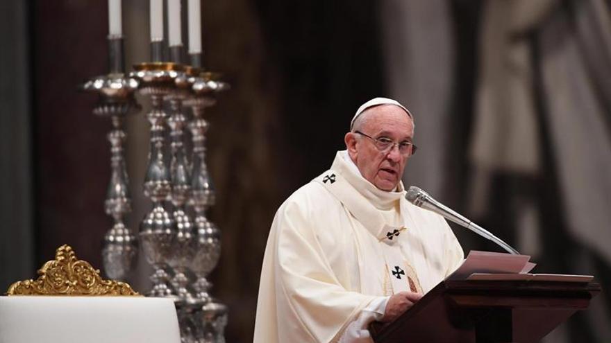 El papa Francisco agradece a quienes ayudan a los inmigrantes