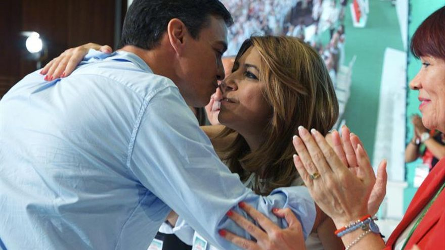 """Sánchez y Díaz dejan claras sus posiciones aunque """"guardan las formas"""""""