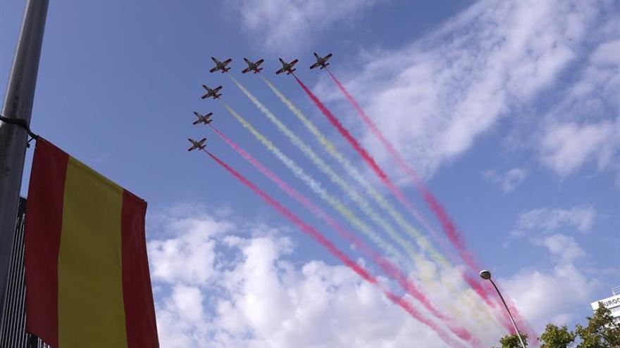 Los Reyes presiden hoy el desfile y la recepción de la Fiesta Nacional