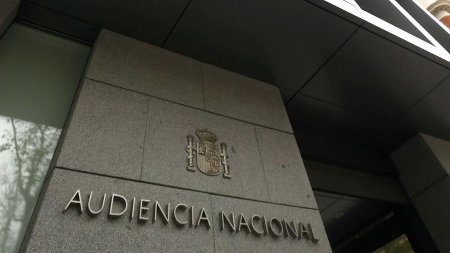 Fachada de la sede de la Audiencia Nacional. (EFE)