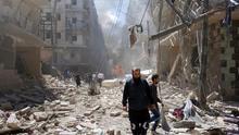 Las fuerzas del régimen entran en la provincia de Al Raqa, bastión del EI en Siria