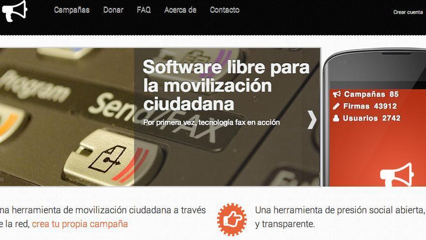 oiga.me, software libre para la movilización social