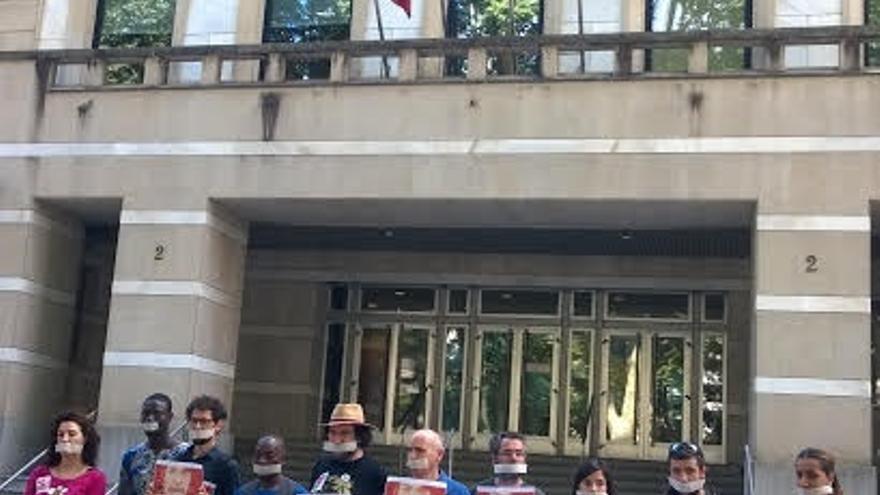 """Colectivos sociales se movilizarán el 1 de julio en Euskadi para mostrar su rechazo a """"las leyes mordaza"""""""