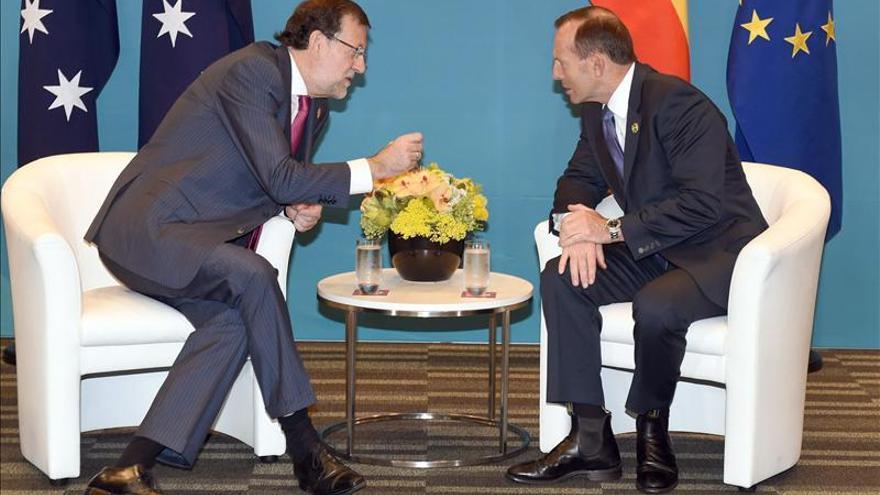 Rajoy elogia obra de Acciona en Australia como ejemplo de capacidad de España