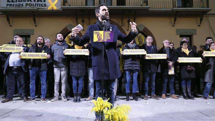 """Torrent afirma que los políticos soberanistas presos """"son rehenes del Estado"""""""