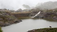 La presa de Las Niñas.