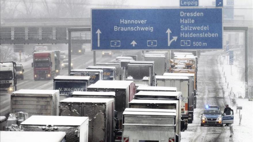 Los camioneros que crucen Alemania deberán cobrar el salario mínimo alemán
