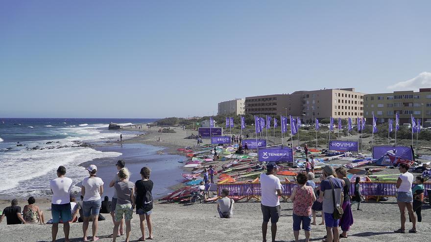 Costa de El Médano, en el sur de Tenerife.