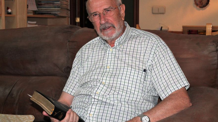 Jesús Herrerro durante una entrevista.