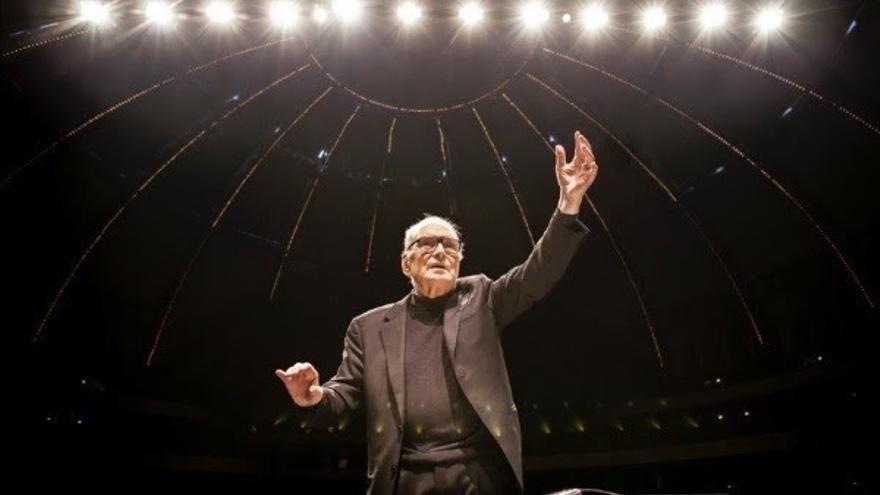Ennio Morricone ofrece este sábado en el BEC de Barakaldo el primero de sus tres últimos conciertos en España