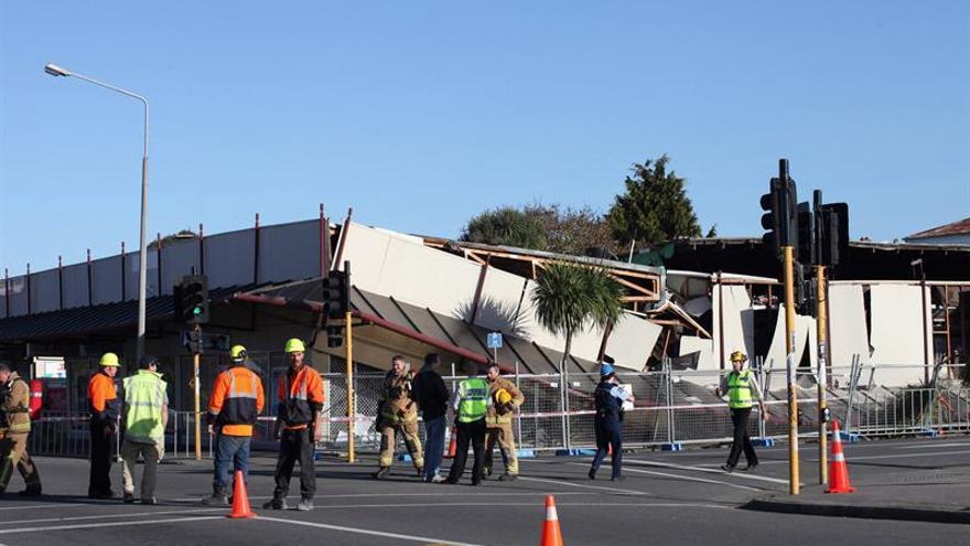 Un terremoto de 6,4 grados con epicentro en el mar se siente en Nueva Zelanda