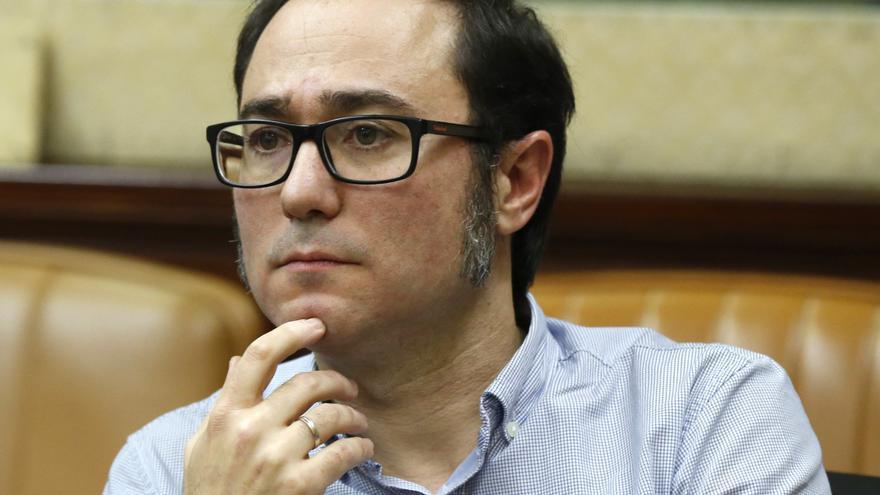 Juanma del Olmo y los gestores de Podemos declaran ante el juez