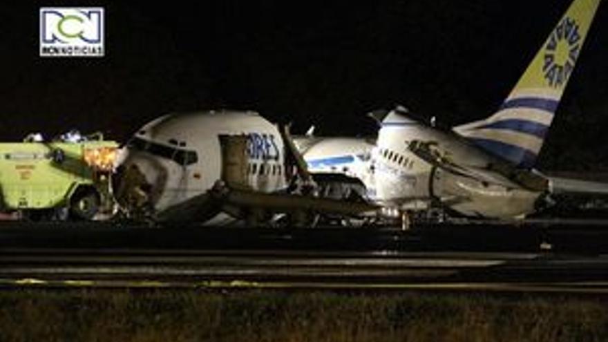 Fallece una pasajera de un avión alcanzado por un rayo