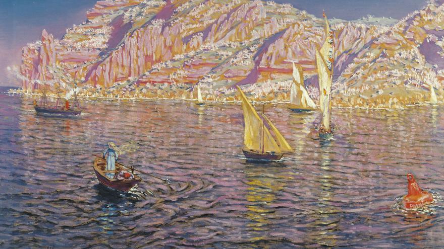 'Marina (Vista de la Bahía de Palma de Mallorca)', de Antonio Muñoz Degrain