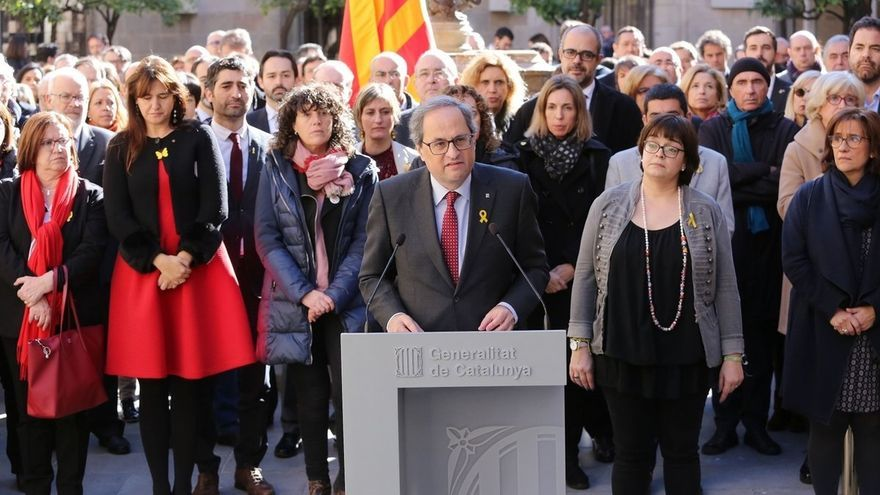 Torra traspasará el lunes a Armengol la presidencia de la Eurorregión Pirineos Mediterránea