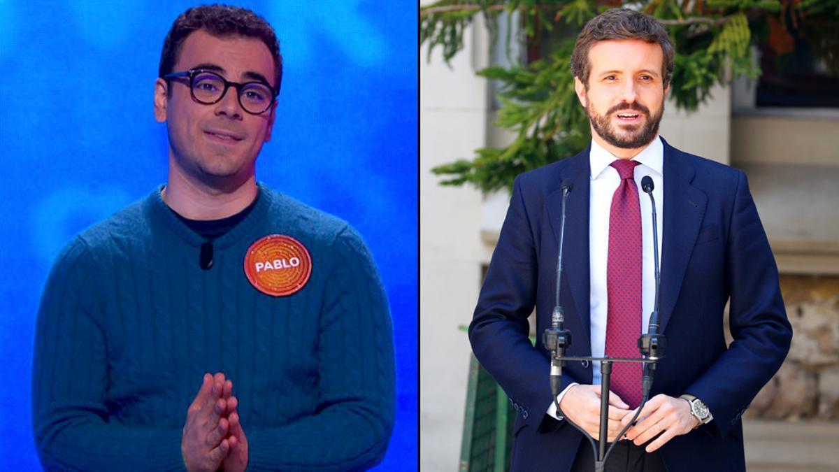 Pablo Díaz y Pablo Casado
