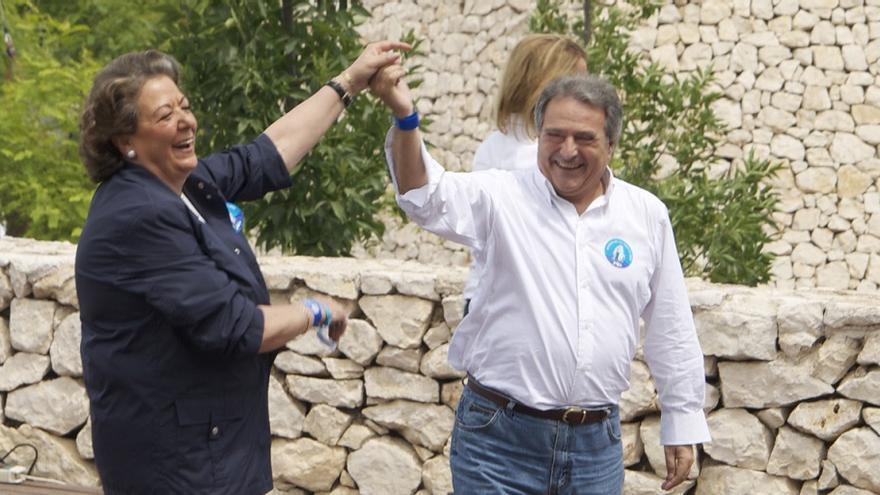 Rita Barberá y Alfonso Rus en un acto del PP
