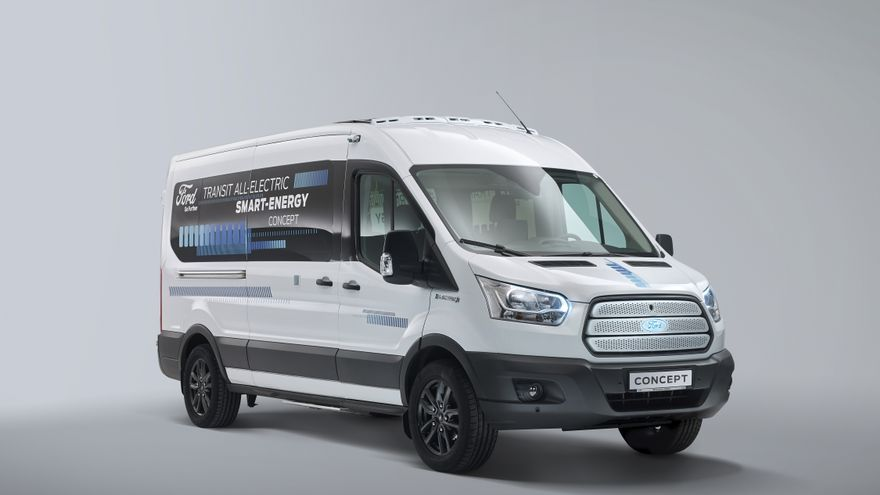 Ford Transit Smart Energy Concept.
